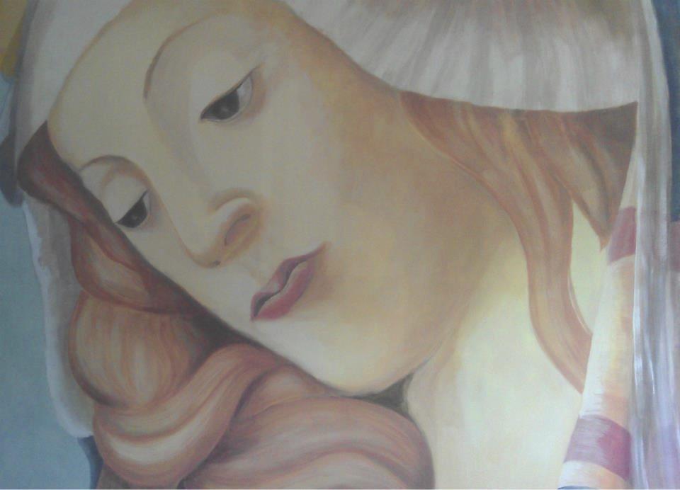 Wandmalerei Maria Eetcafe